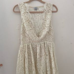 Tobi White Lace Dress